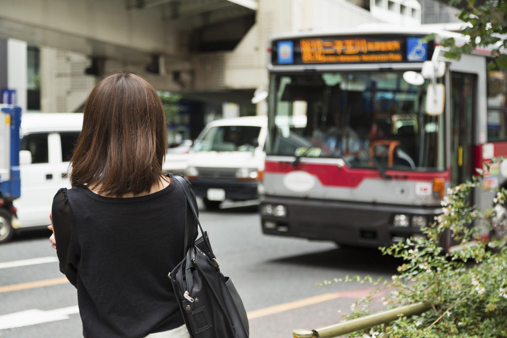 おひとりさまではとバス