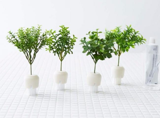 観葉植物型お掃除アイテム