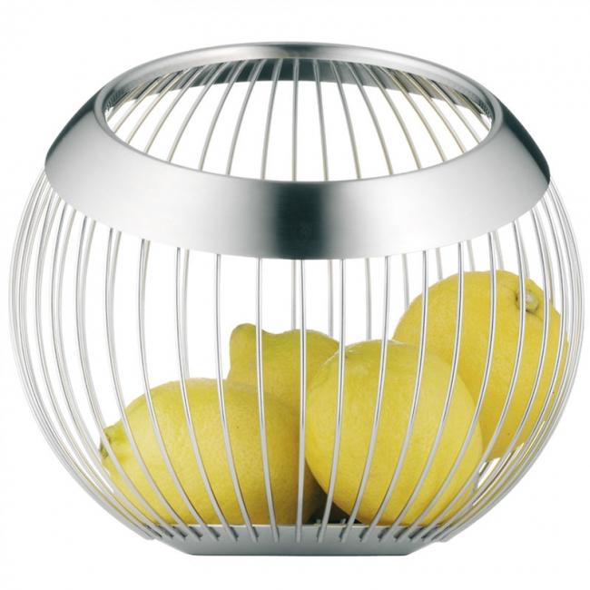 レモンが入ったリビングラウンジバスケット