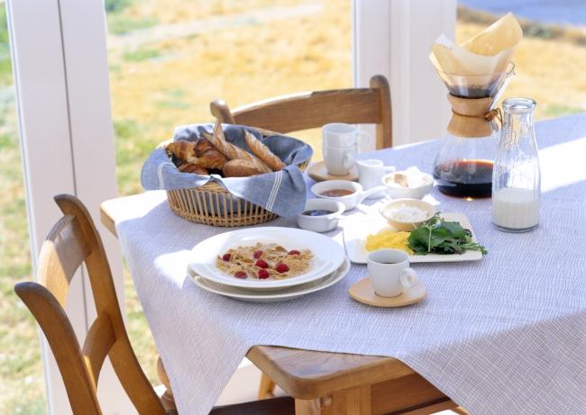 朝ご飯はがっつり!?