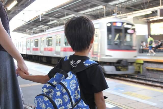 子どもと電車で出かけよう