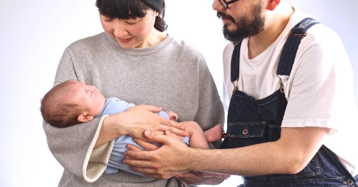 赤ちゃんの可愛い表情をそのまま