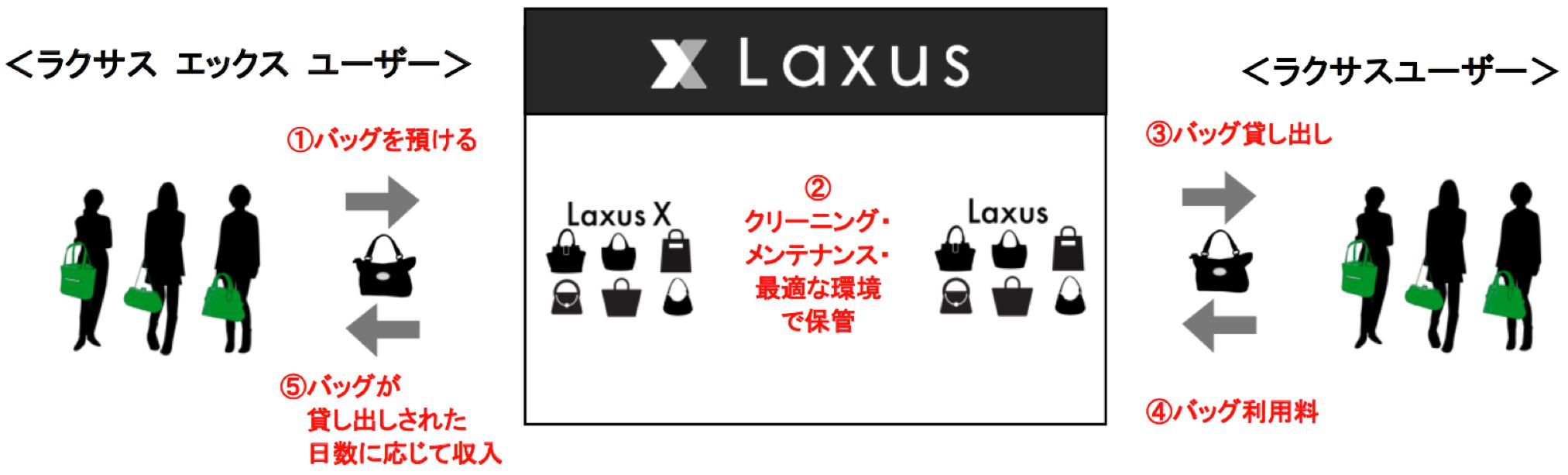 ラクサスとラクサスXの仕組み