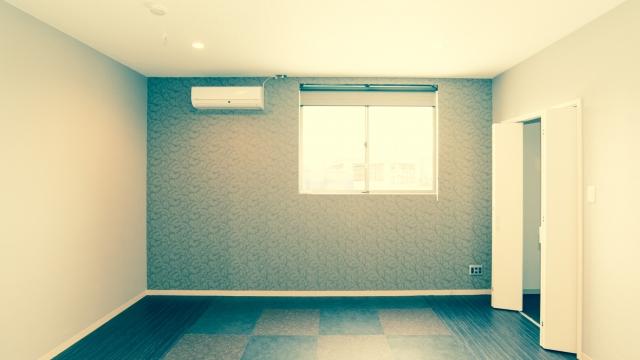 まっさらな部屋
