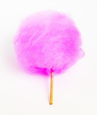 ピンク色のわたあめ