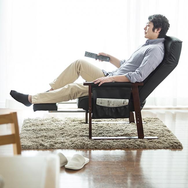 オットマン付きリラックス高座椅子