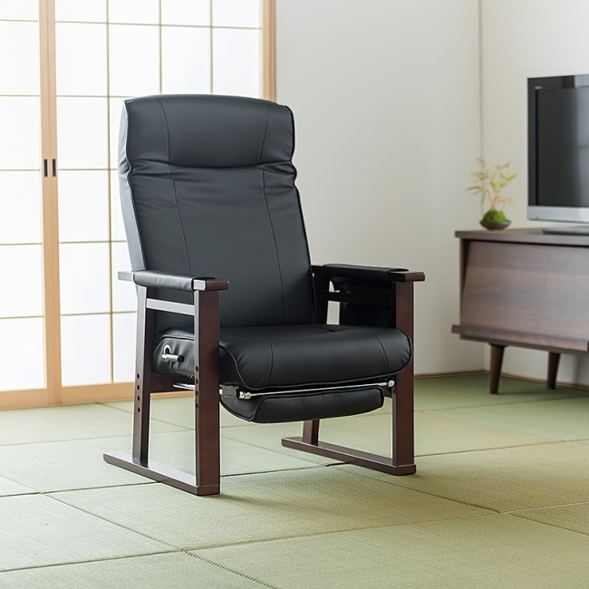 和洋室どちらにも似合うデザインの高座椅子