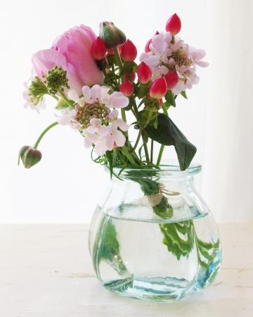 かわいいピンクのお花
