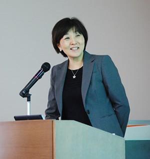 久保博子教授 写真