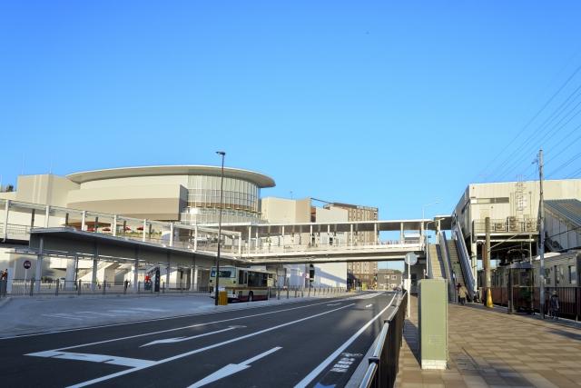 駅が近く、通勤通学に便利