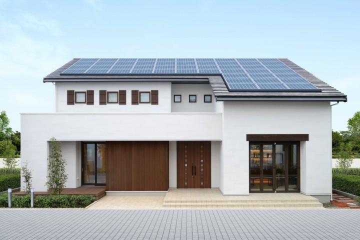 太陽光パネルと高性能設備でエコで快適な暮らし
