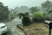 奄美の台風