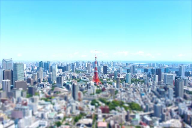 東京の都心部