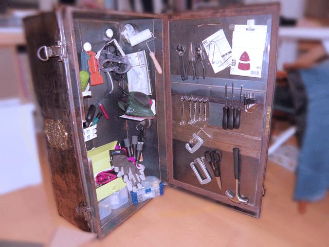 DIYツールとトランクボックス