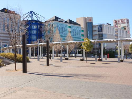 都筑区にあるセンター南駅