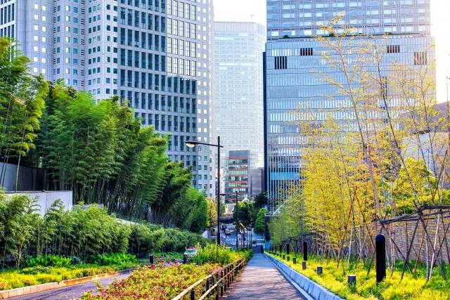 緑化システムマンション