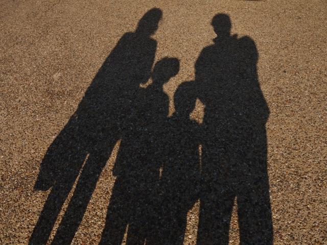 4人家族の影