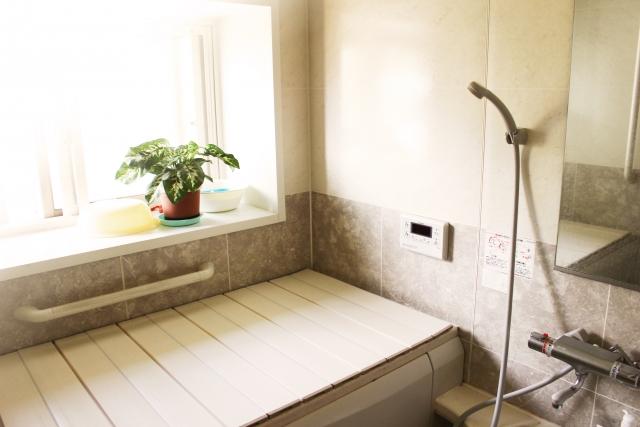 お風呂場はどうしても湿気がたまりやすい