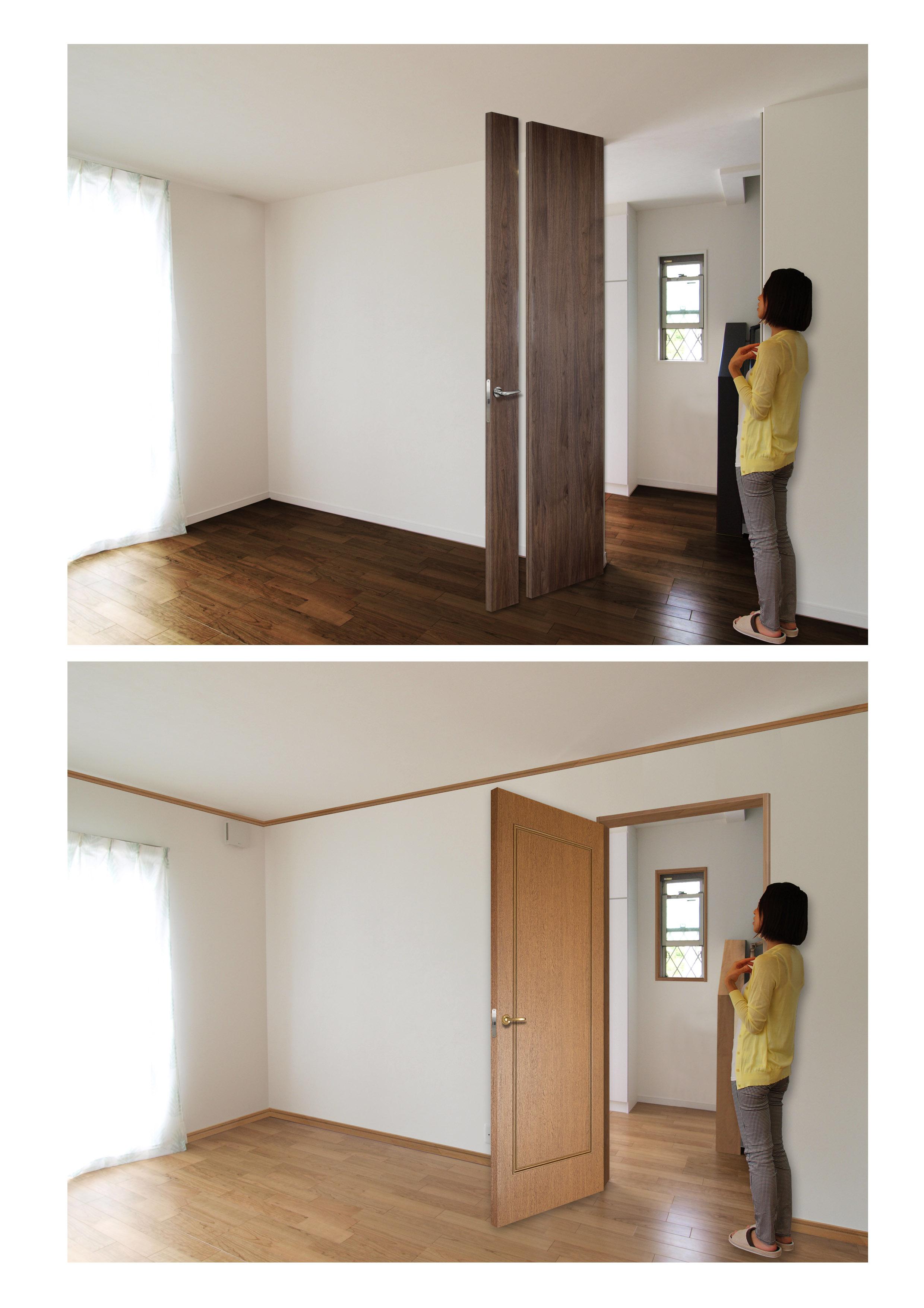 フルハイトドアですっきり