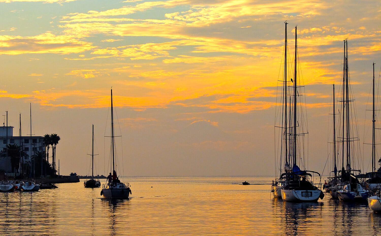 三浦市の海