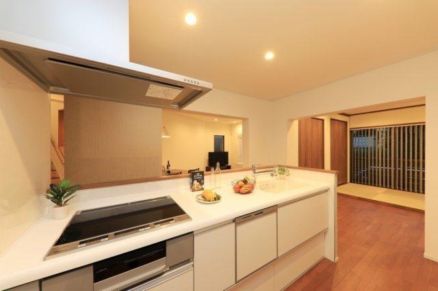 新品のクリナップ製システムキッチン(食洗機付)