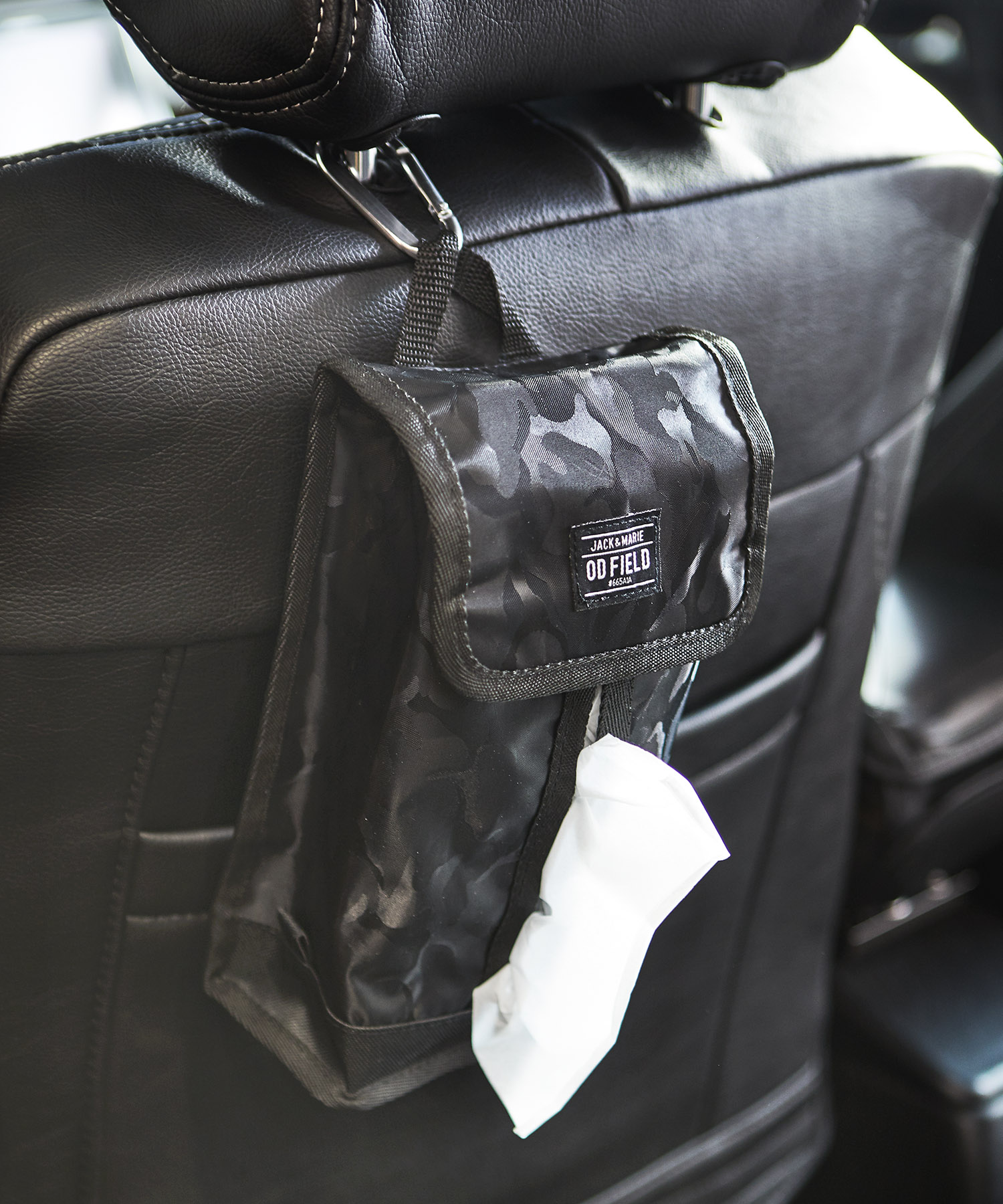 車で使えるティッシュケース
