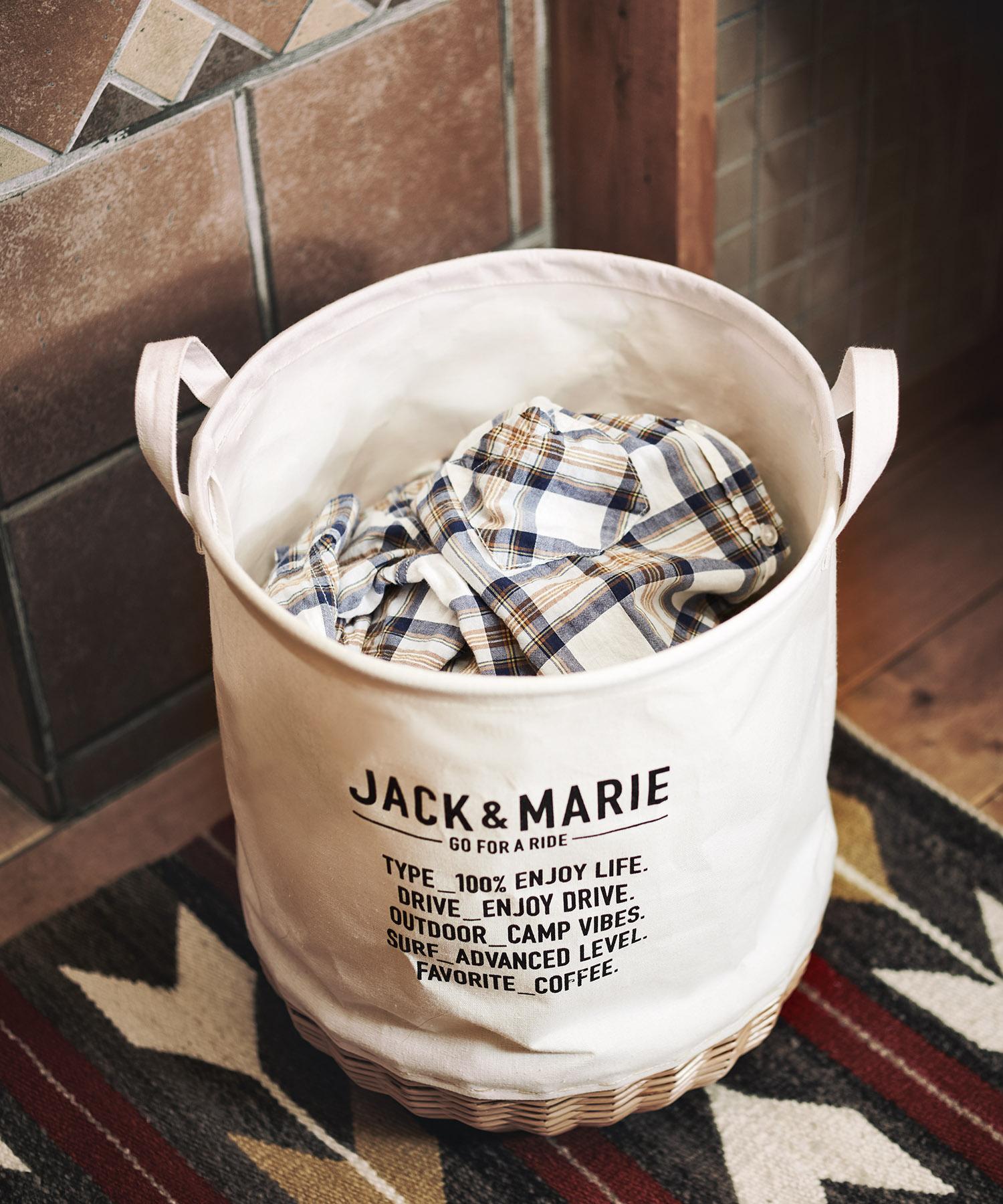 「JACK&MARIE」ウィローバスケット