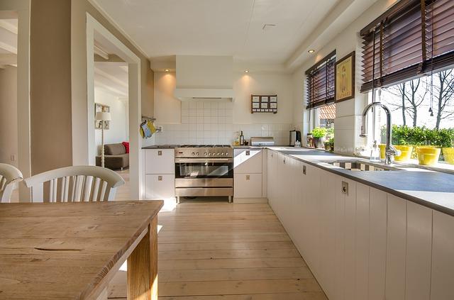 整理されたきれいなキッチン