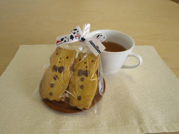 可愛いクッキーとお茶