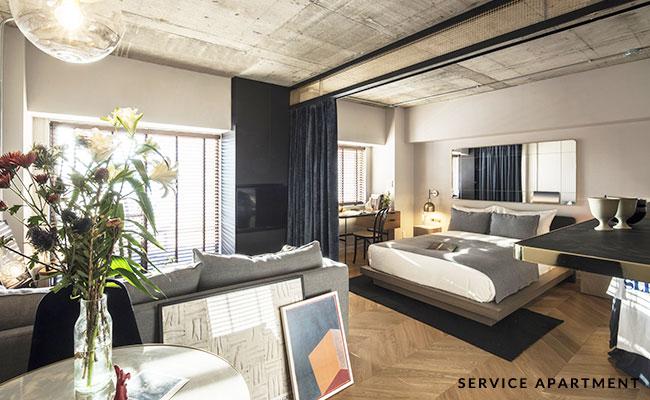 「PORTAL Apartment & Art POINT」サービスアパートメント