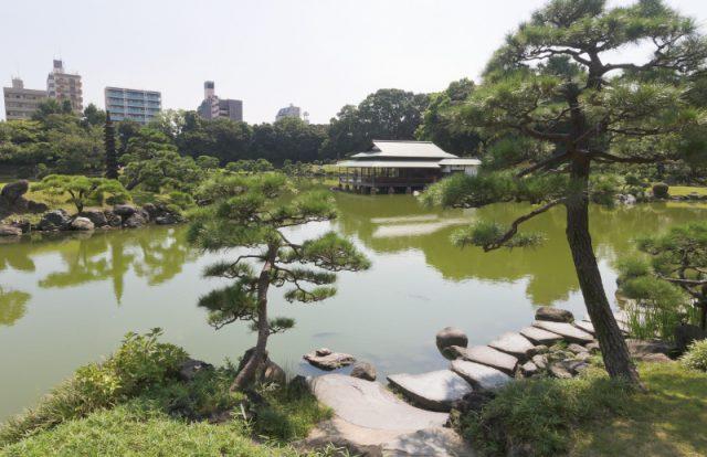自然豊かな清澄庭園