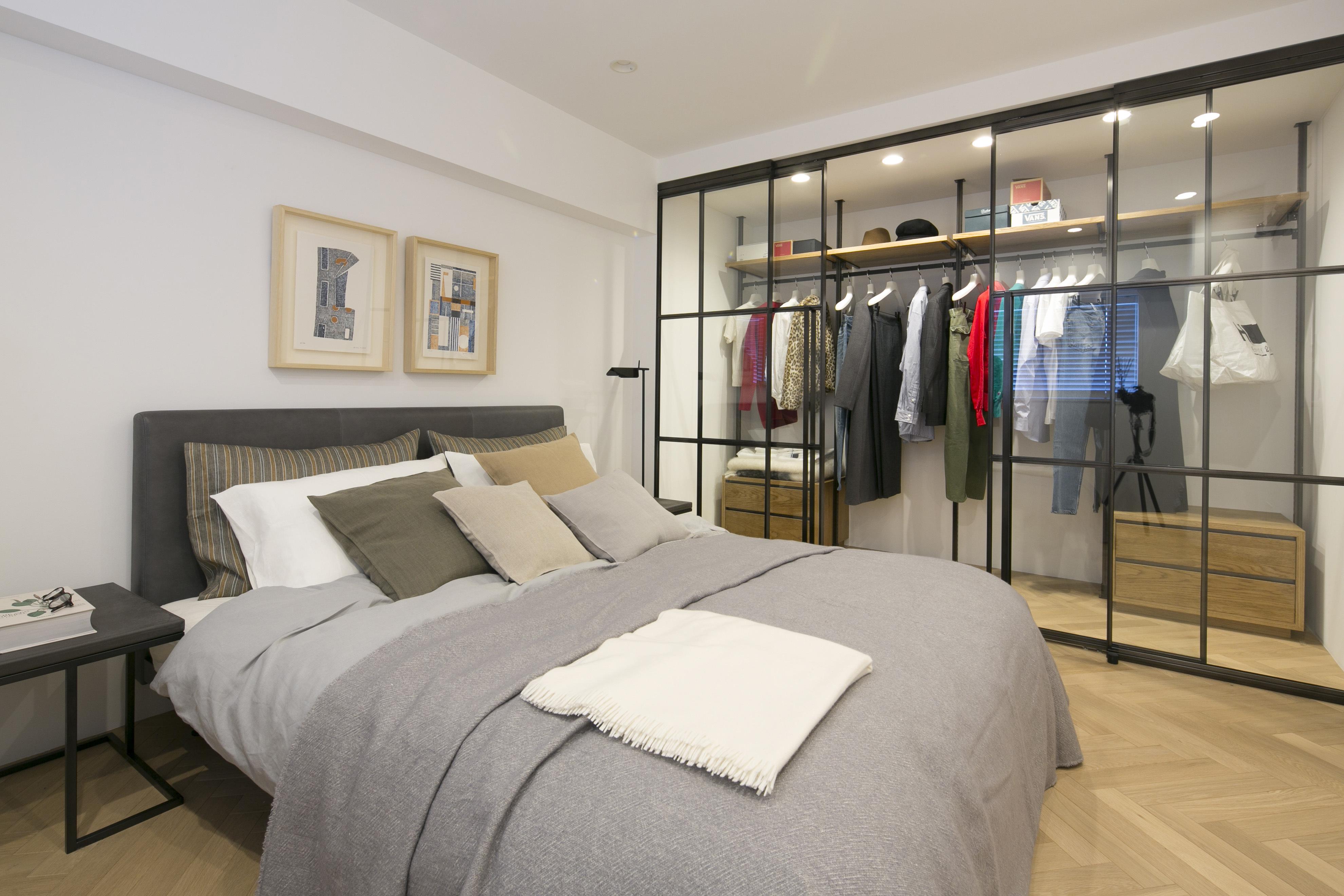 モデルルーム 寝室