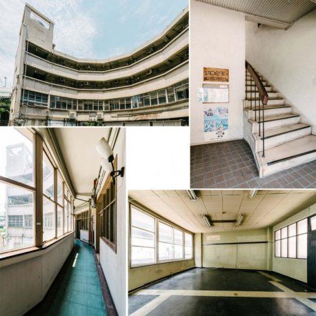 老朽化の進ん新桜川ビル
