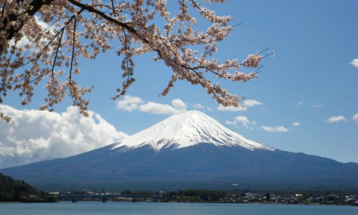 さまざまなスポットから富士山が望める