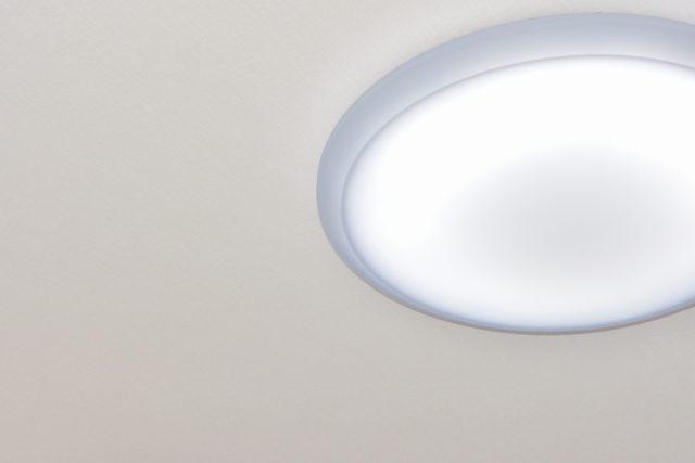 天井のシーリングライト