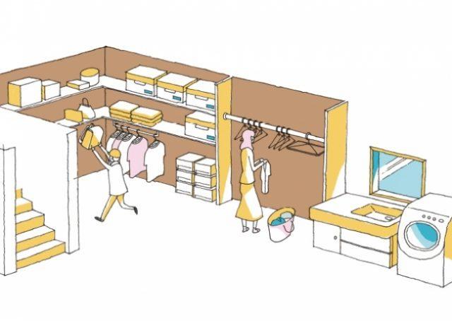 <レシピNo.4>収納×動線 超時短キッチン