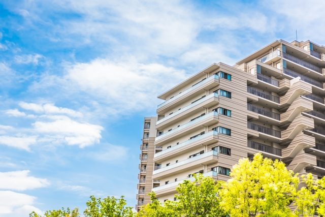 新築の大型マンション
