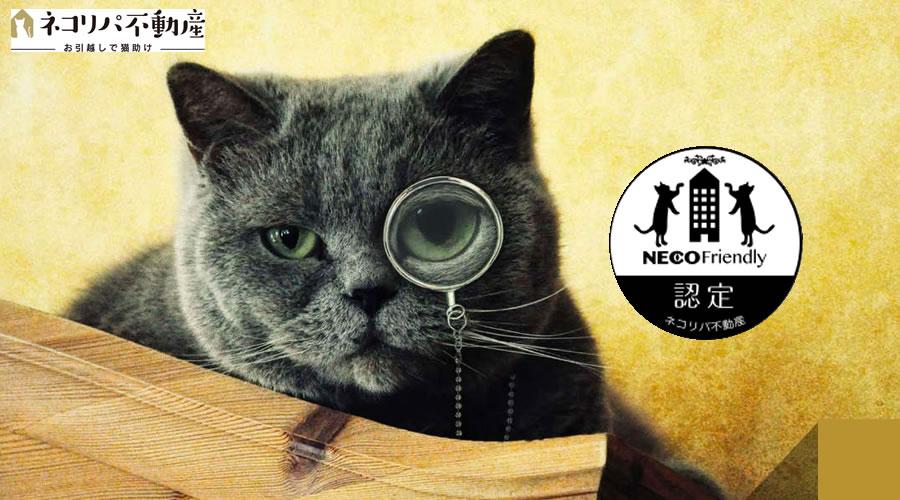 猫の飼育が可能な住まい探しサイト
