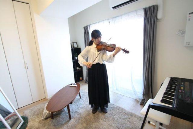 自宅で楽器演奏ができる!